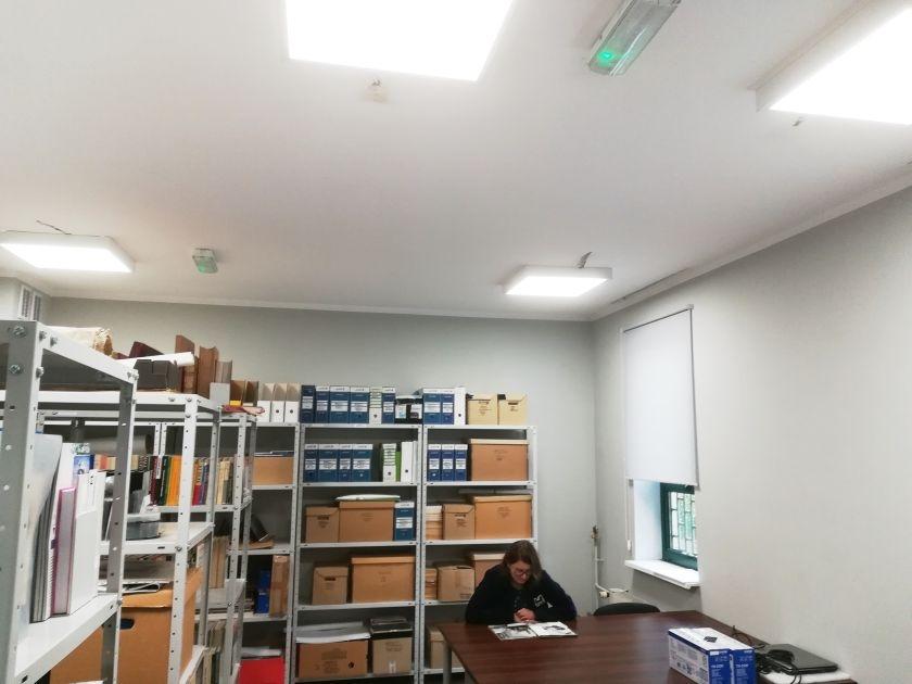 Nowe Oświetlenie Biurowca Muzeum Twierdzy Kostrzyn Nad Odrą